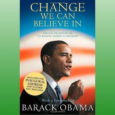 Change We Can Believe in by Obama President Barack