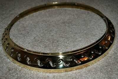 Bacon and Day B&D Resonator flange (Nickel Plated OLD style)