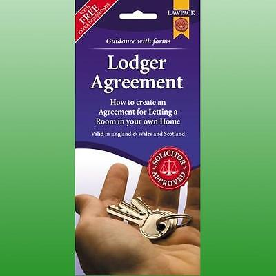 Lodger Agreement Form Pack England Wales And Scotland 1224