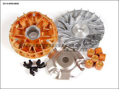 HONDA PCX 125 150cc KWN NC125 NC150 - Pulley Variator CNC Drive Face Rollers Kit