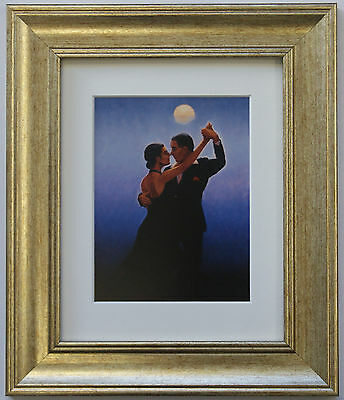 Tango Dancers by Jack Vettriano Framed & Mounted Art Print Gold