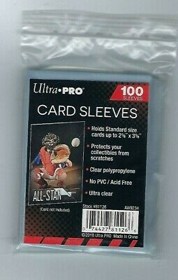 5000 Ultra Pro Sports Card Soft Penny Sleeves FREE SHIPPING