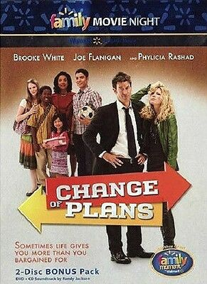 Change of Plans (DVD & CD) Family Movie Night Brooke White Randy Jackson NEW