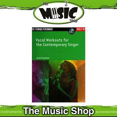 New Vocal Workouts for the Contemporary Singer Music Tuition Book & CD