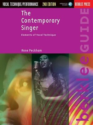 New The Contemporary Singer Vocal Tuition Book & CD - 2nd Edition