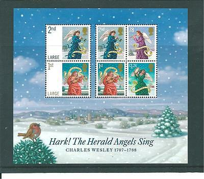 Gb - Miniature Sheet - 2007 - Christmas - Unmounted  Mint