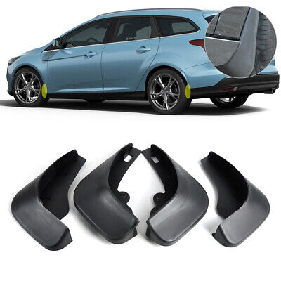 MUD FLAPS FLAP SPLASH GUARDS MUDGUARD for Ford Focus Hatchback MK II 2005-2010