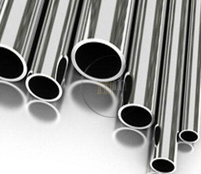 "1-1/2"" 316 Marine Grade Stainless Steel Tube CHOOSE A Length A4 Stainless Steel"