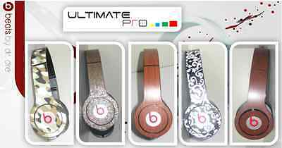 Sticker decal skin vinyl design compatible with Beats by Dr Dre solo camo parts
