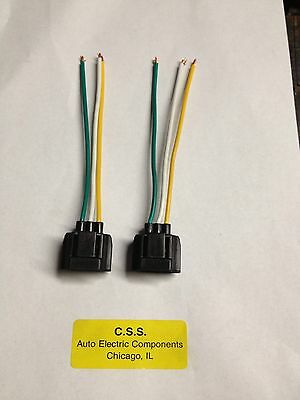 ford 3g alternator conversion harness connector 1 wire • 13 30 ford 6g alternator harness connector plug 3 wire repair plug lead lot of 2