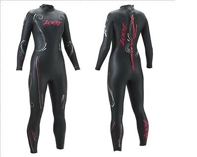 NEW 2015 Women's Zoot Z Force 1.0 Wetzoot Fullsleeve Triathlon Swimming Wetsuit