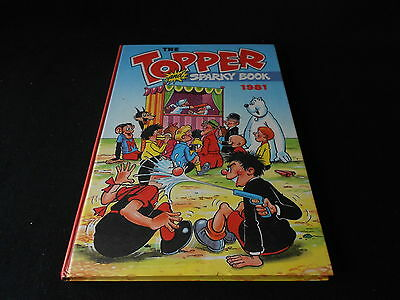 Topper and Sparky Book 1981 VINTAGE ANNUAL