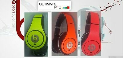 Sticker decal skin vinyl design compatible with Beats by Dr Dre studio neon wrap