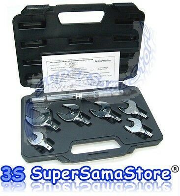 3S NEW COMPLETE SET TORQUE WRENCH for AIR CONDITIONING REFRIGERATION SYSTEMS