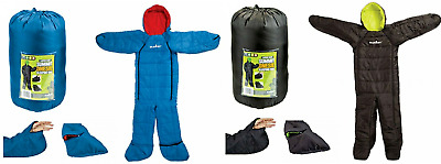 Summit Adult Motion Sac Camping Sleeping Bag Suit Festivals Fishing Trek Onesie