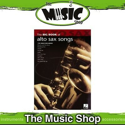New The Big Book of Alto Sax Songs Music Book - 130 Titles! - Saxophone