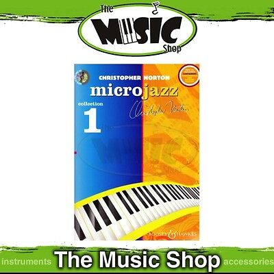 New Microjazz Collection 1 for Piano Music Book & CD - by Christopher Norton