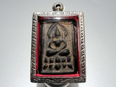 Lp.boon Somdej Buddha Enlighten Dharma Samadhi Thai Amulet Necklace Pendant Hot