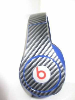 Sticker decal skin vinyl compatible with Beats by Dr Dre solo studio Carbon wrap