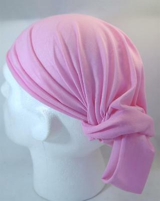 Multifunction head wrap neck tube scarf mask hat PRETTY PINK cycling hiking