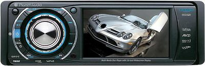 """PLANET AUDIO P9690 IN DASH DVD/CD/MP3/USB/AUX/SD CAR PLAYER  3.6"""" TFT MONITOR"""
