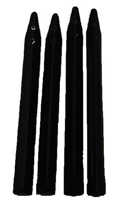 Stern Pinball Machine Legs - Black - Set of 4