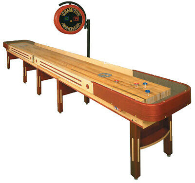 Grand Champion Limited Edition Shuffleboard Table 20ft