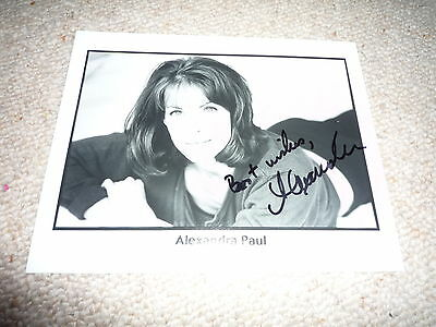 ALEXANDRA PAUL sexy signed Autogramm 20x25 cm In Person BAYWATCH