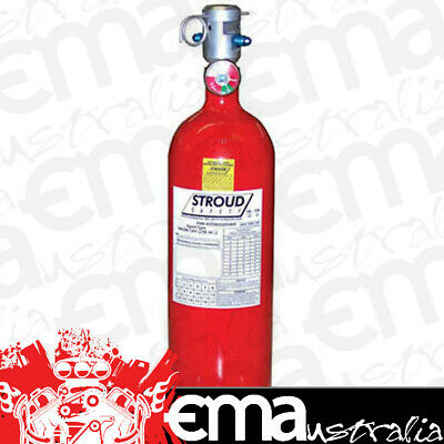 Stroud Safety Fire Suppression System Replacement 10Lb Fe-36 Bottle Ss93072