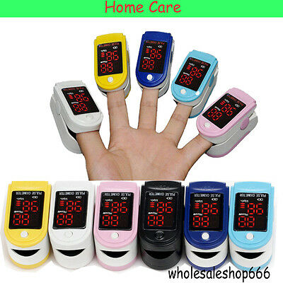 NEW Home Care Finger Pulse Oximeter Spo2 Fingertip Oxygen Monitor FDA CE Gift