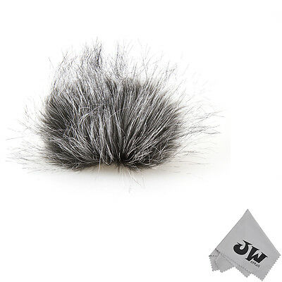Wind Tech Mic-Muff Fitted Fur Windscreen Sony PCM-D1 D50 Tascam DR-40 Zoom H4 H6