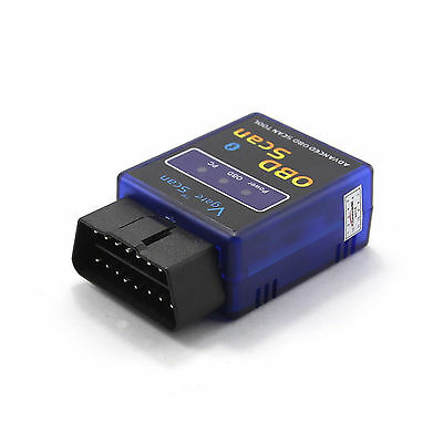 Bluetooth OBDII OBD2 Diagnose Adapter Android Handy für fast alle PKWs KFZ Car