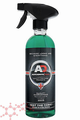Autobrite Direct Just The Tonic Tar And Glue Remover 500ml ~ Car Wash Detail Bug