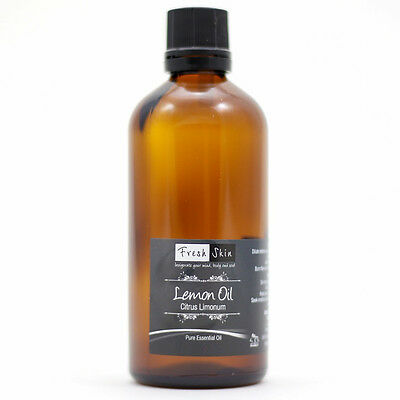 50ml Lemon Pure Essential Oil - 100% Pure, Certified & Natural - Aromatherapy