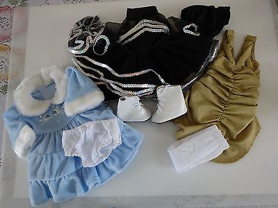 """NEW-DOLL ICE SKATING OUTFITS _Lot #11 [9 PC] fit 18"""" Doll such as American Girl"""