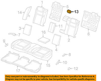 CHRYSLER OEM Rear Seat-Cup Holder 68104327AA