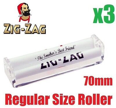 Regular Size 3x Zig Zag Automatic Cigarette Cig Tobacco Rolling Roller Machine