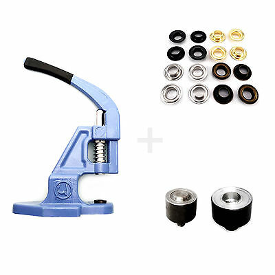 Hand press setter for 8 mm solid brass eyelets grommets vinyl leather craft S014