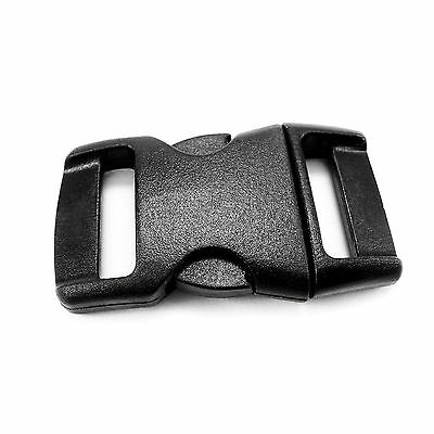Plastic single adjusting side release buckles for 15 mm webbing, AIC