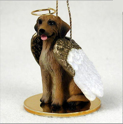 Rhodesian Ridgeback Dog Figurine Ornament Angel Statue Hand Painted