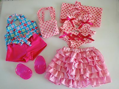 "NEW-DOLL SUMMER CLOTHES_Lot #16 [8 PC] fit 18"" Doll such as American Girl Dolls"