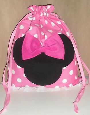 DISNEY MINNIE MOUSE PERSONALIZED GYMNASTICS Bags Birthday Goody Bag
