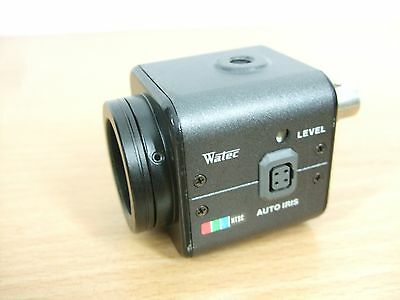 Watec NTSC CCD color Camera WAT-221S. tested