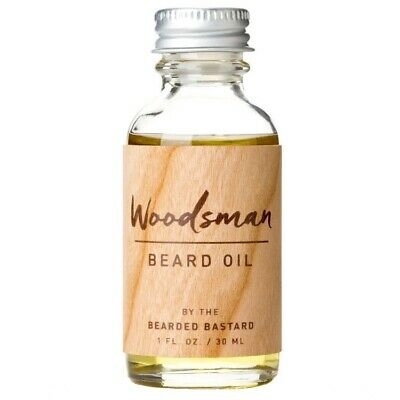 The Bearded Bastard The Woodsman Beard Oil Mo Grooming Care Conditioner