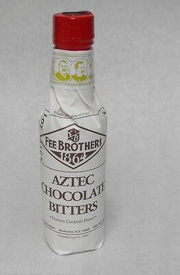 5 oz. Fee Bros AZTEC CHOCOLATE Aromatic BITTERS Cocktail Flavoring FREE USA SHIP