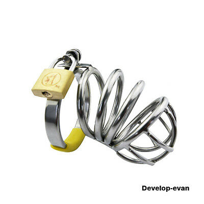 New Stainless steel Male Chastity device  HOT Domina A014