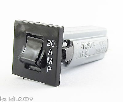 1pc NEW ZING EAR ZE-800 20A Overload Amp Protection Switch