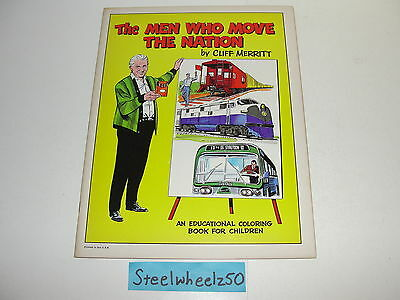 Men Who Move The Nation #0 Comic United Transportation Union 1965 Cliff Merritt