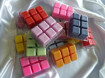 Bulk 20 x clamshells highty scented melts candles. Soy wax. U choose scent