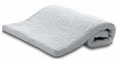 Happy Beds Topper 2500 Mattress Topper Double Jersey Zip Cover Orthopaedic New